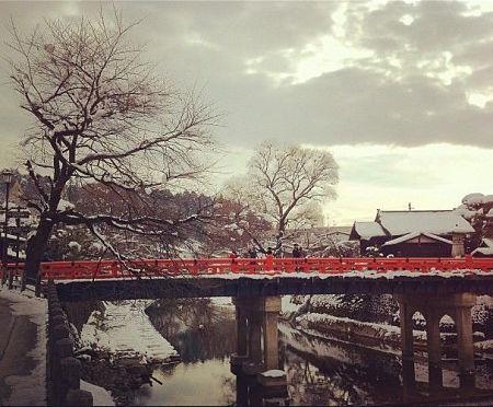 Những cây cầu tuyệt đẹp ở Takayama