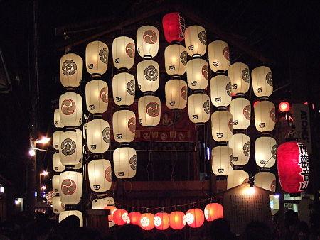 Đèn lồng trong lễ hội Gion Matsuri ở Kyoto